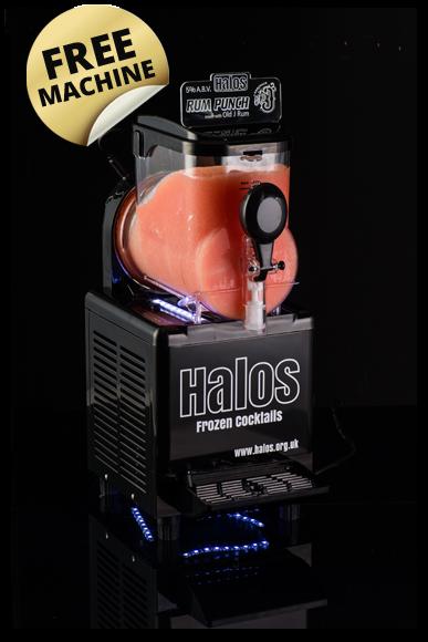 halos frozen cocktail machine